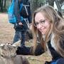 A cute deer in Nara, Japan