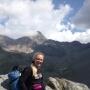 Gisella Gallenca doing trekking...