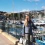 Gisella Gallenca in Côte d'Azur