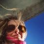 Gisella Gallenca going to ski...