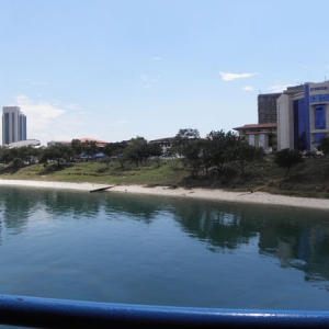 Dar Es Salaam, City Center from the bay